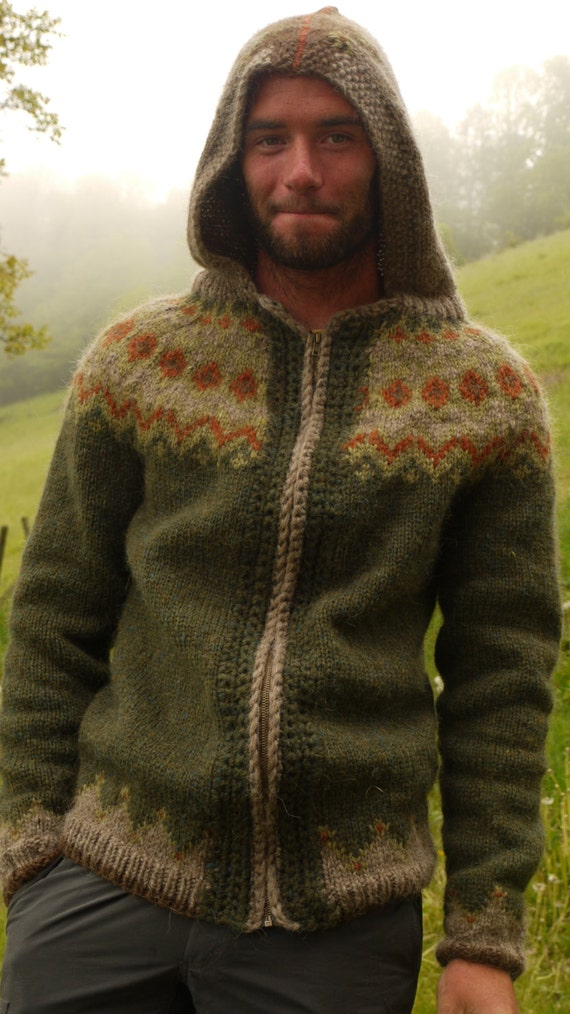 Items similar to FPAA Peysa Hoody, the Icelandic sweater! on Etsy