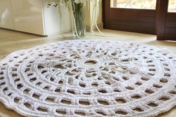 Doily Rug Pattern Crochet Rug Pattern Crochet Pattern Hygge