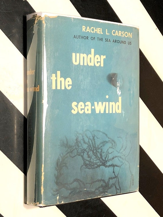 Under the Sea Wind by Rachel Carson (1952) hardcover book