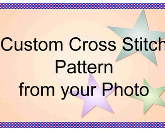 Custom Cross Stitch Pattern from Your Photo