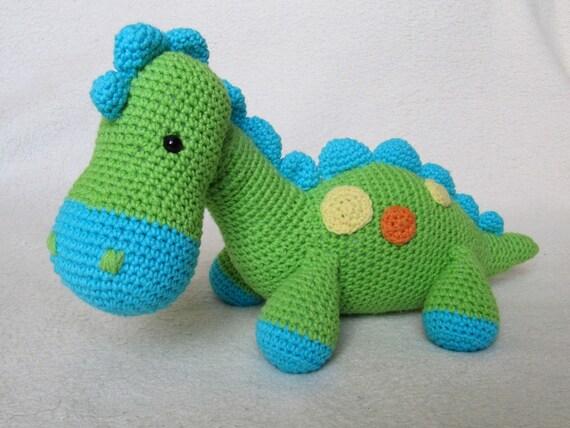 Amigurumi Magazine Pdf : My friend dinosaur dino amigurumi crochet pattern pdf