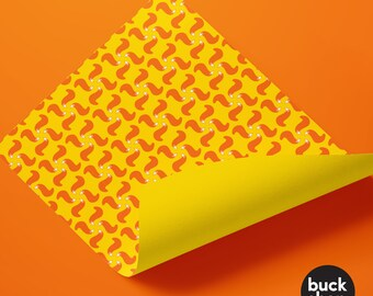 Fox Tail Wrapping Paper (2 Sheets)