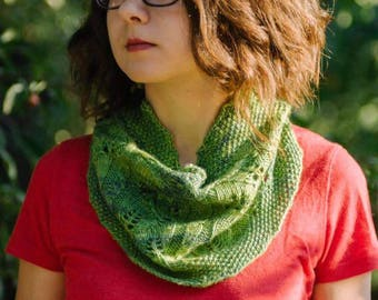 Where the Leaves Land Cowl - Knitting Pattern