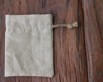 30 linen drawstring bags camel sand with hemp string gift bags jewelry packaging pouches drawstring 3 x 4 inch linen favor bags gift pouches