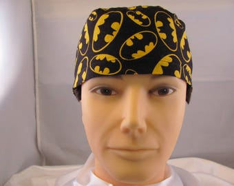 Men's Scrub Hat Batman