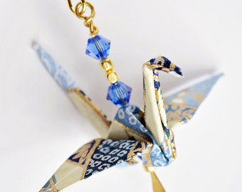 Earrings gift ideas for girlfriend| Wife blue earrings| Blue earrings for friends| Origami anniversary gift| Blue jewelry for friends