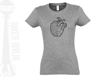 Woman T-Shirt  'heart and mind'