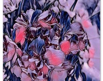 Flower Photograph, Graphic Design, Instant Digital Download, Wall Hanging, eArtwork Prints