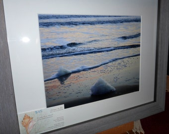"""11""""x14"""" Matted and Framed Seascape Photo"""