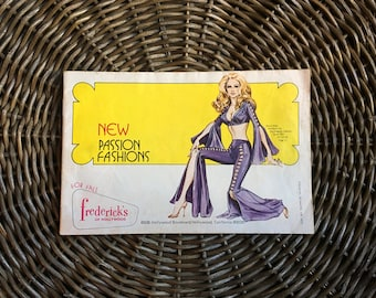 Frederick's of Hollywood Pinup Fashion Catalog 1972
