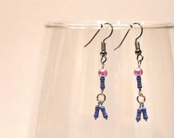 Upcycled Resistor Drop Earrings