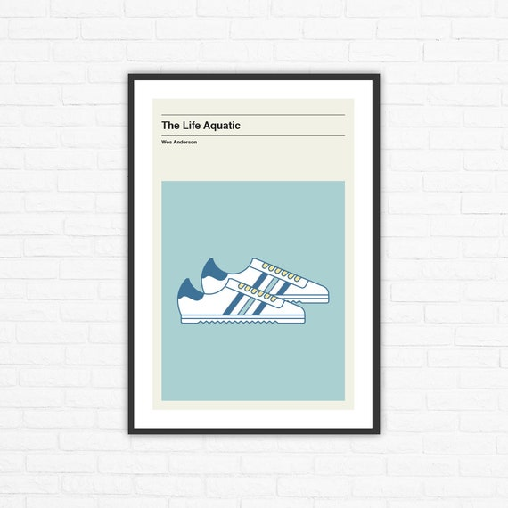 Wes Anderson la vida acuática Adidas ROM Zissou zapatos