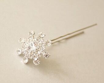 Wedding Hair Pins, Bridal Hair Pins,  Rhinestone Bobby Pin 1 piece- make your sets