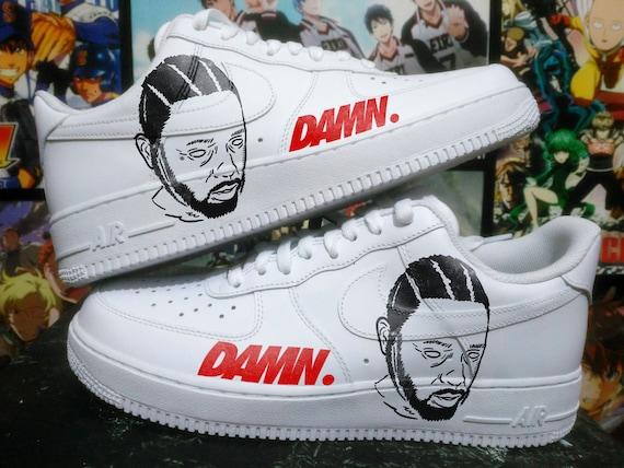 Custom Painted Basketball Shoes