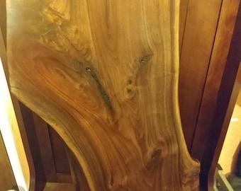 American Black Walnut Wood Slab