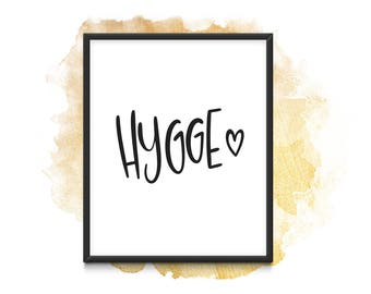 Hygge - Instand Download (A4)