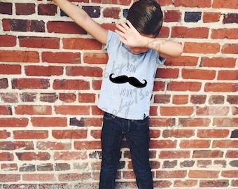 Boys Shirts, Boy Clothes,Toddler Boys Clothes, Boys T-Shirts, Boys Mustache shirt,baby boy mustache shirt,baby boy clothing,graphic t-shirt,