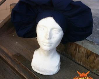 Renaissance Muffin Cap - Navy Blue
