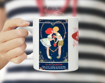 Phyllis Cooper, My Valentine, Coffee Mug, Phyllis Valentine, Valentine Cooper, Mug Valentine, To My Valentine, Valentines Mug, I Love You
