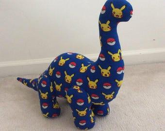 Designer Dinosaur - Brilliant Brontosaurus - Pokemon