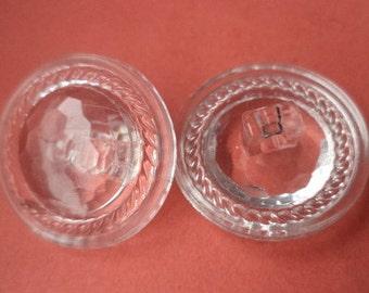 9 buttons transparent 21mm (701) button