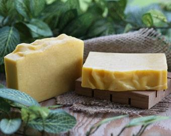 Organic Anise & Citrus Handmade Soap, Organic Soap, Coconut Milk Soap, Vegan Soap