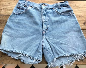 "Vintage denim shorts  ""San Fransisco """