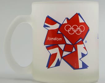 London 2012 Olympics Collectible Frosted Mug