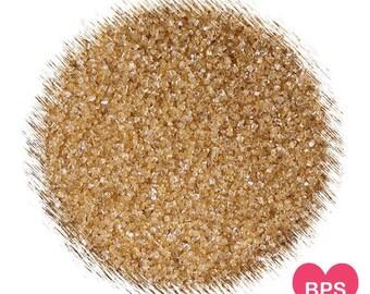 Gold Sanding Sugar, Gold Sprinkles, Edible Sprinkles, Christmas Sprinkles, Gold Wedding Sprinkles, Cocktail Rimming Sugar,Gold Glitter Sugar