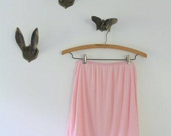 Vintage Slip, Pink Slip, Half Slip, Pink Lace Slip, Pink Half Slip Sheer Slip Lace Slip Vintage Lingerie Vintage Pink Slip Vintage Lace Slip