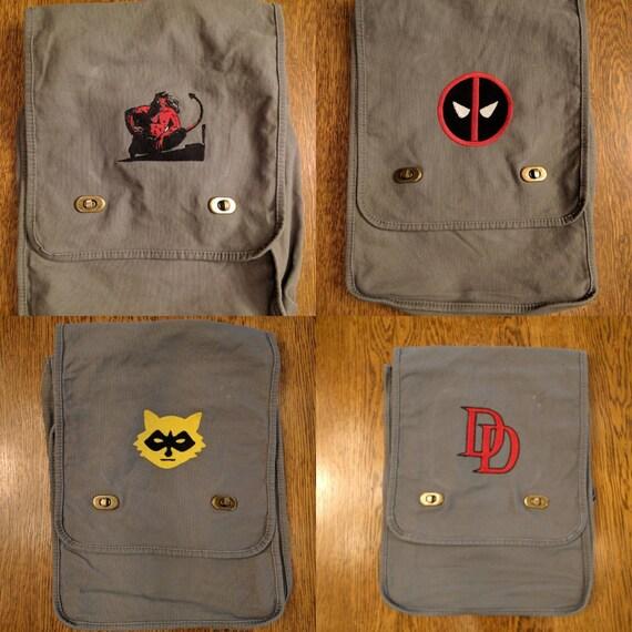 Custom Comic Messenger Bag v1