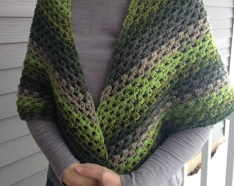 Green Envy Wrap/Shawl