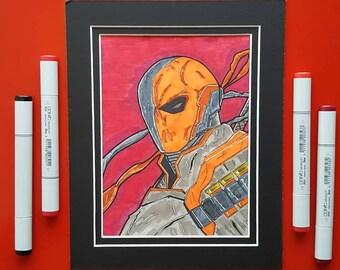 DC Deathstroke Art