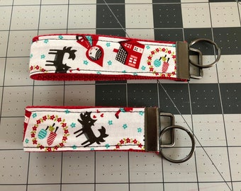 Little Red Riding Hood Key Fob Set