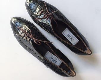 Vintage Women's Bally Oxfords Size 9