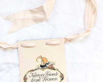 Paper BANNER antique book page banner