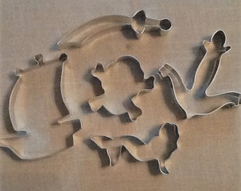 Aargh....It's A Pirates' Life Cookie Cutters, Set of 5