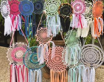 Crochet Dream Catcher