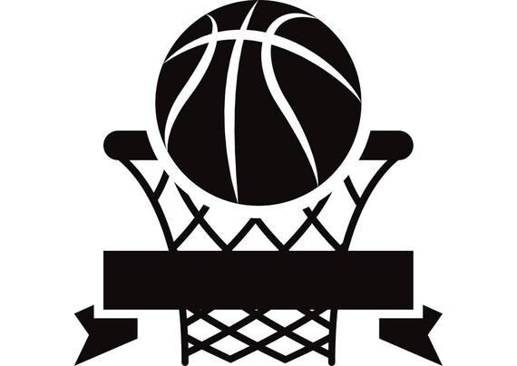 Basketball Net Logo Basketball Logo 1 Hoop...