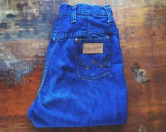 Vintage 1970s Wrangler Denim Boot Cut Jeans, Ladies, 27x31