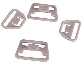 SALE Beige Nursing Clips - 18mm - 1 Set (PM18BN-1)