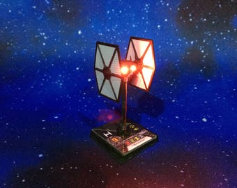Star Wars X-Wing Miniatures: TIE/SF LED Engine Modification Upgrade