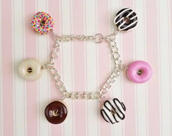 Doughnut Charm Bracelet
