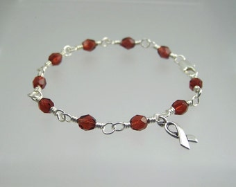 Autoimmune Hepatitis Awareness Bracelet