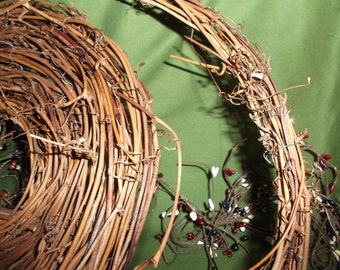 15 feet of a primitive twig garland grapevine 1 inch thick