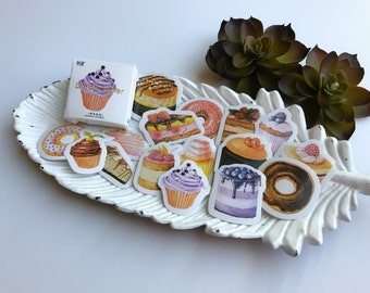 Sticker Set Sweets 45 pcs
