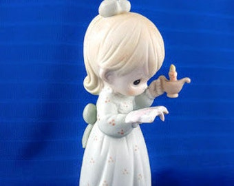 Once Upon A Holy Night Precious Moments Figurine