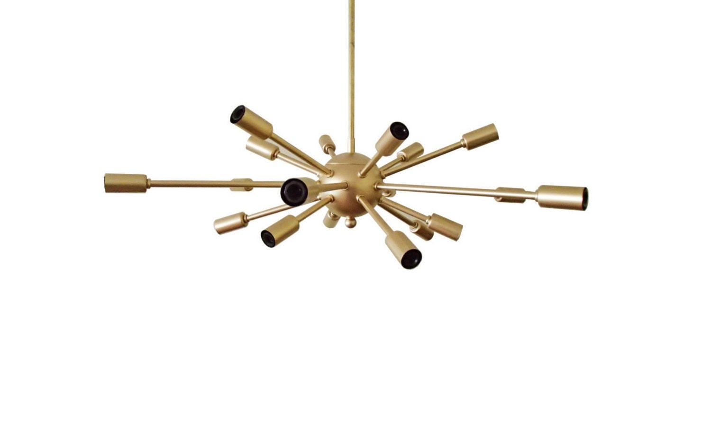 and lighting pendants stilnovo glass modern brass white style sputnik mid chandeliers century listings italian furniture chandelier