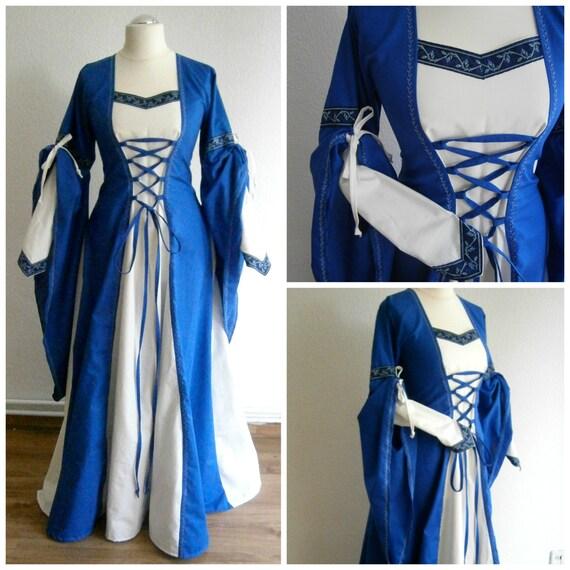 Renaissance Festival Wedding Dresses: Custom Order Medieval Gown Renaissance Dress LARP And Fantasy