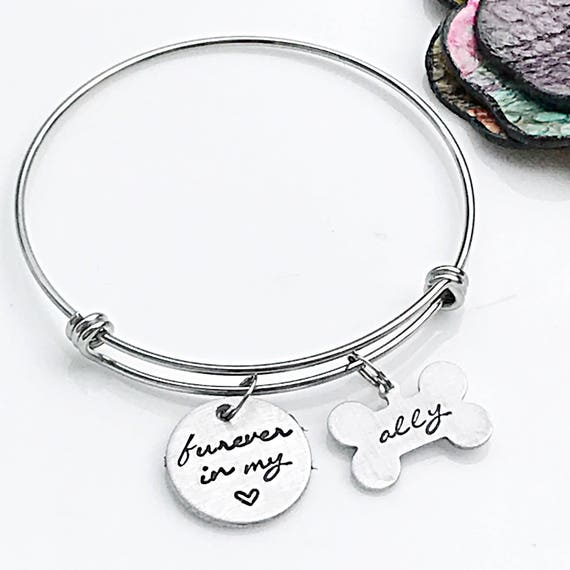 dog listing memorial jewelry personalized fbmk bracelet il pet